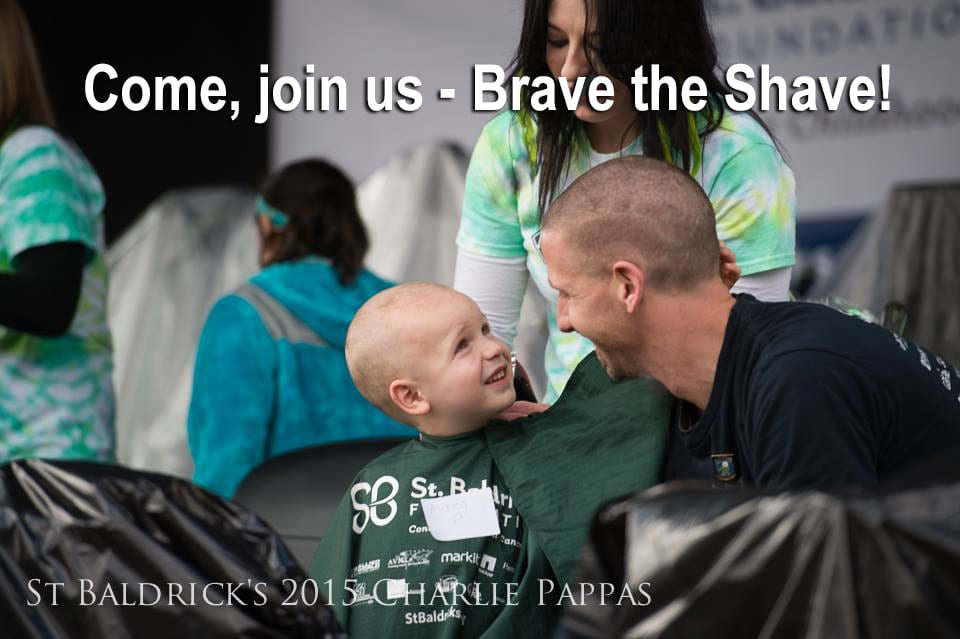 """Bald is Beautiful When it Beats Cancer: Join us at the St. Baldrick's Foundation """"Brave the Shave"""" Event!"""